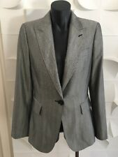 Zara Sturdy Construction size 8 Women's Black Corporate Work Blazer Jacket