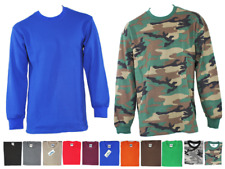 MEN HEAVY WEIGHT THERMAL PLAIN LONG SLEEVE WAFFLE SHIRTS JOHNSON