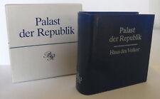 Minibuch: palais de la république Offizin Anderson nexö Leipzig 1986 bu0003