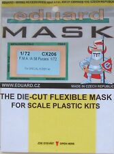 Eduard 1/72 CX206 Canopy Mask for the Airfix/Special Hobby FMA IA 58 Pucara kit