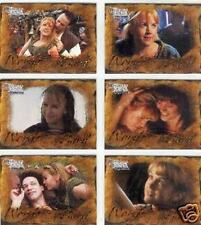 XENA - THE QUOTABLE XENA WARRIOR PRINCESS - WORDS FROM THE BARD SET OF 9