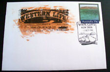 1985 Western Life Newspaper souvenir cover with White Cliffs cancel.