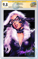 BLACK CAT #1 Mike Mayhew Studio Store Variant Cover B CGC Signature Series 9.8