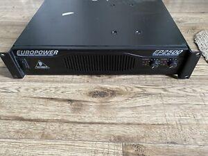 Behringer ep2500 Power Amplifier
