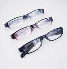 Agstum New Light Full Rim Vintage Eyeglasses Slim Reading Glasses Readers +1 +2