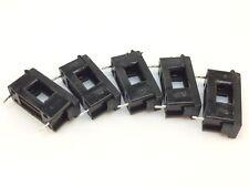 5x Verschließbarer Sicherungshalter | 250VAC | 10A | Feinsicherung,5x20,Fassung