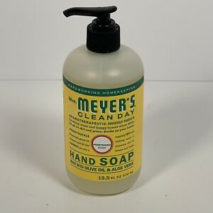 Mrs Meyers Hand Soap Honeysuckle Scent 12.5 Fl Oz. Made with Aloe
