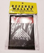 Soccer Referee Wallet Football Red card Yellow Card Score Pad