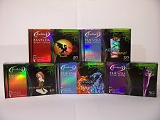 Fantasia 50 Gram Herbal Shisha Tobacco Hooka- 5 Fantasy Flavors Variety Pack