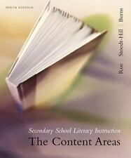 Secondary School Literacy Instruction : The Content Areas GREAT condition