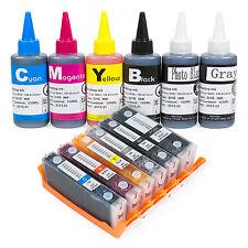 Refillable Ink Cartridge Kit for Canon 270/271 PIXMA MG7720 TS8020 TS9020 6C