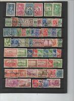 135 timbres Algérie avant indépendance