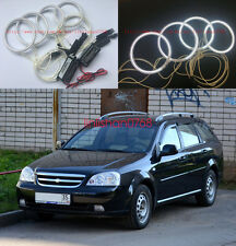 4x Excellent CCFL Angel Eyes kit Halo Ring For Chevrolet Lacetti Optra Nubira 02