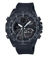 Casio Edifice Full Black Plated Stainless Steel Bluetooth Watch - ECB-900PB-1
