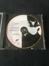 ❣RARE❣UK PICTURE CD Shake~Andrew Ridgeley (Wham!/George Michael)