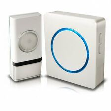 Swann Wireless Door Chime/Door Bell with Compact Backlit Design SWHOM-DC810B