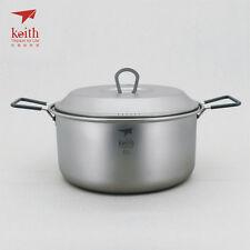 Keith Titanium Ti6018 Pot - 2.5 L (Shipped from USA)