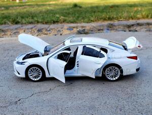 Lexus ES300h ES300 Diecast Model Car Toys Gift Black/White/Blue 1/32 Jackiekim