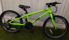 Lime Green Frog 52 kids bike