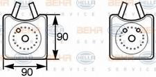 Ölkühler, Motoröl für Schmierung HELLA 8MO 376 778-001