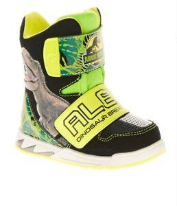 Jurassic World Toddler Boys' Licensed Hi-Top Light-Up Sneaker Boots: 7-11