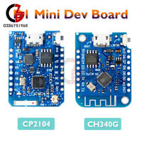 Wemos D1 Mini Pro CP2104/CH340G ESP8266 WiFi IOT Development Board w/ Antenna