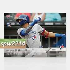 2018 Topps Now Lourdes Gurriel Jr RC #516 Multiple Hits in 10 Straight Games