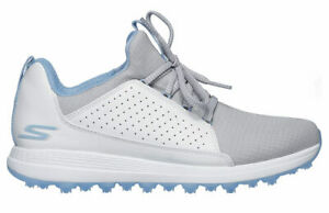 Skechers Women's Go Golf Max Mojo Golf Shoes 14887 WGBL White/Blue Ladies New