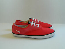 Nike Deuce Red Textile Trainers Casual Shoes UK- 9 / 44