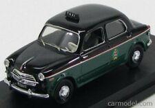 Rio-models 4408/p scala 1/43 fiat 1100/103 taxi milano 1956 - con tassista black
