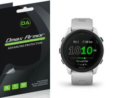 6x Dmax Armor HD Clear Screen Protector Shield for Garmin Forerunner 745