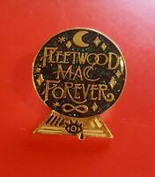 Fleetwood Mac Forever Pin Music Fan Pin Enamel Retro Metal Brooch Badge Lapel