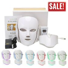 LED Light Photon Therapy Mask 3/7Colors Anti-aging Wrinkle Whitening Facial Mask