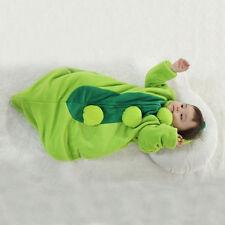 Baby Pea Pod sleeping play costume dress baby green onepiece infant halloween