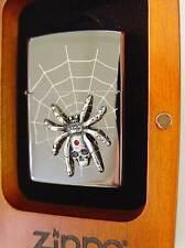Zippo® SPIDER SKULL Limited Edition  LTD SPINNE in HOLZBOX New / Neu OVP
