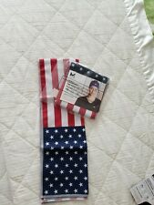 Mission x2  Cools Instantly When Wet Hydro-Active USA FLAG    NEW 10x32