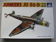 Italeri 114 Junkers Ju 86-d1 1:72 envío combinado posible
