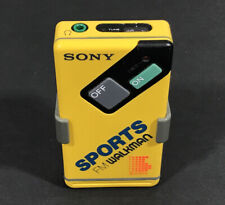 Vintage Sony Sports FM Walkman, SRF-4, with Belt Clip, Radio, Tested and Works!