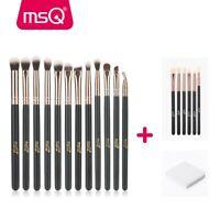 18Pcs MSQ Eye Makeup Brush Set Blend Shadow Eyeliner Smoke Brushes Tools