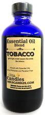 Tobacco 8 Ounce / 236 ml Blue Glass Bottle of Fragrance Oil