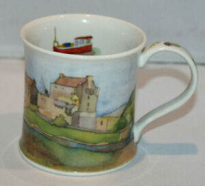 Dunoon Fine Stoneware Scottish Scenes by Emma Ball coffee mug Scotland