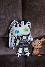 Monster High Friends Frankie Stein & Watzit Plush Rag Doll
