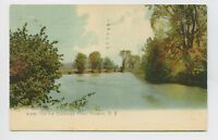 Norwich, NY - EARLY VIEW ON THE CHENAGO RIVER - Postcard - H