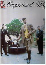 LP – MC DUKE - ORGANISED RHYME LP - UK HIP HOP MUSIC OF LIFE