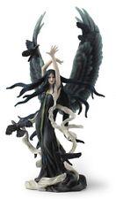 "12"" Faery of Ravens by Nene Thomas Fairy Statue Sculpture Fantasy Decor"