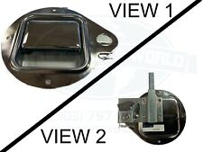 MANY 87-05 PETERBILT MODEL PASSENGER FRONT EXTERIOR DOOR HANDLE CHROME W/SLEEPER
