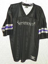 Men's OT Sports Louisiana SWASHBUCKLERS #34 Phillip O'Neil Signed Jersey Size L