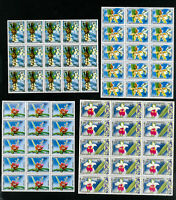 Laos Stamps # 216-8 VF Lot of 15 sets OG NH Scott Value $133.50