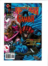 The Night Man/Gambit #2 VF/NM 9.0 Malibu/Marvel Comics; X-Men,Ultraverse