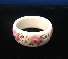 Hand Painted Bracelet by Kenneth Jay Lane for Royal Worcester England